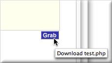 Grabcode button screenshot
